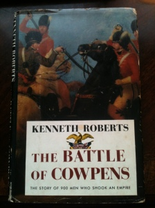 Battle of Cowpens Dust Jacket