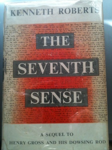 Front of Dust Jacket - The Seventh Sense