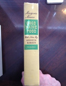 Good Maine Food (1947) - spine
